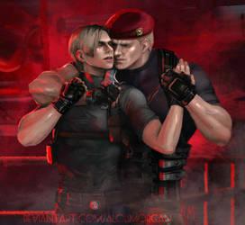 Heavy fighting by AloisMorgan