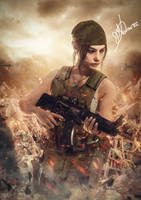 Claire Redfield Military RE2 REMAKE by MarK-RC97