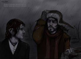Rain by Villidia