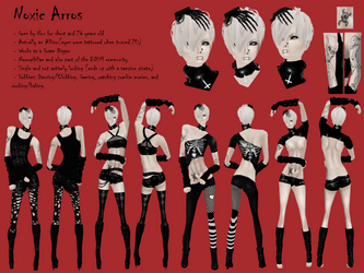Noxic Arros - OC Ref (IMVU) by FutureGrave