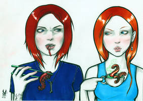 self-portrait age 21 by hiraistrange