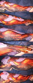 sharpie phoenix by hiraistrange