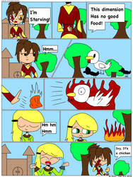 Comic #1 of The Realm Protectors by MintPunky