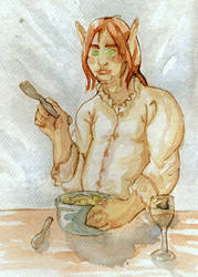 WoW art exchange for ElJay by amarok