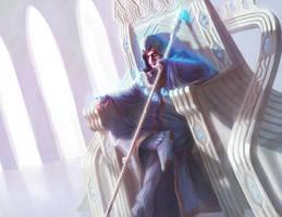 Blue Wizard King by TheKupikimijumjum