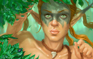 Elf Ranger by TheKupikimijumjum