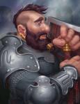 Dwarf Portrait by TheKupikimijumjum