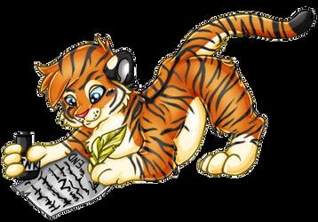 Naturama Chibi Tiger by Lau-Fey