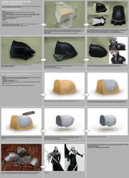 Shoulderplates making tutorial by scargeear