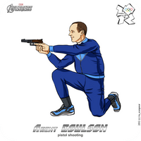 Olympics-2012: Avengers - agent Coulson by scargeear