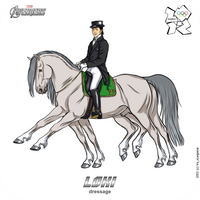 Olympics-2012:  Loki - dressage by scargeear