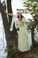 Female costume - fantasy girl 01 by scargeear