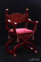 Renaissance chair by scargeear