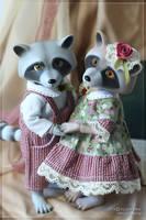 Raccoon Smuzhka teaser by scargeear