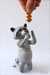 Raccoon Smuzhka preorder by scargeear