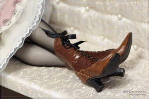 Victorian boots by scargeear