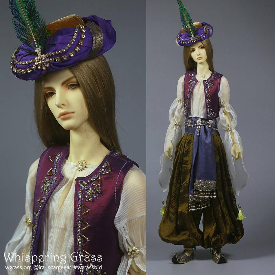 Arabian harem style costume by scargeear