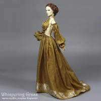 Golden Sari Dress by scargeear