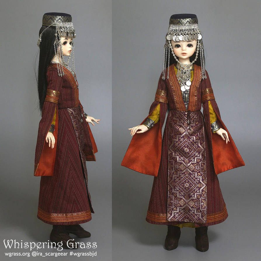 Armenian National Costume set by scargeear