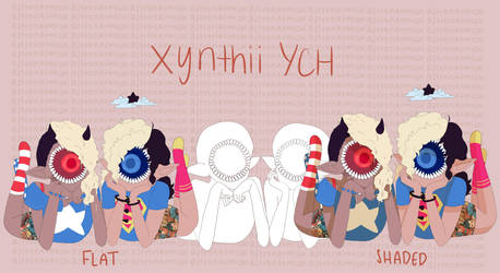 Xynthii YCH // Best Friends // Paypal + Points by astronaumical