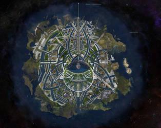 Asgard Concept Art by AryaAter