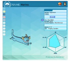 Pokemon PC App: Marina by supersonicelsword