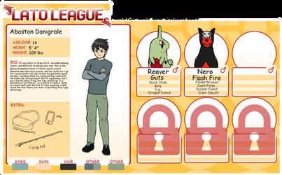 Lato league Participant: Abaston Danigrale by supersonicelsword