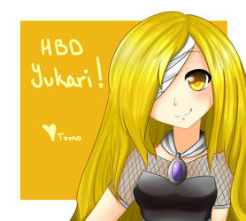 [Gift] HBD Yukari! by tomokki