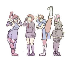 Velma Costumes by ScoobyKun