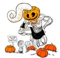 Halloween 20 Day Challenge: Pumpkin by ScoobyKun