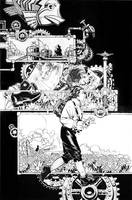 Bachalo and me Steampunk a by Blasterkid