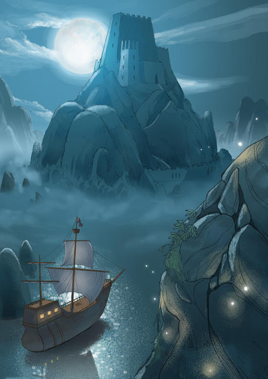 The Island Fortress by Monkey-Mafia