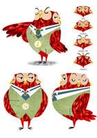 the Owl by Monkey-Mafia