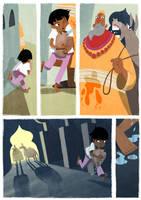 The Boy and The Jar: Page 5 by Monkey-Mafia