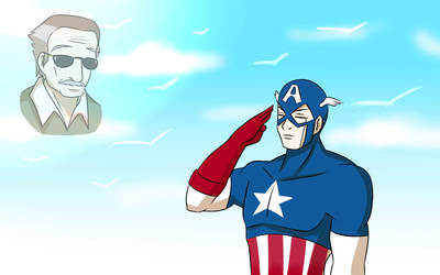 R.I.P Stan Lee by BlizzardDemon