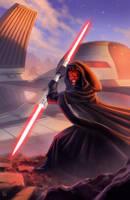 Star Wars tribute with Darth Maul :D by pierreloyvet