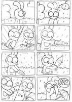 Stupid Umbrella... by ILoveBlueMoreThanYou