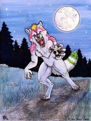 Sparkle Werewolf by AuroraWolf