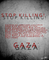 Stop Killing GAZA by Dark-lil-Angel