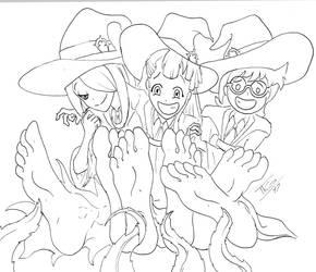 Tickle Sketch 3 Halloween by ImTheGuy97