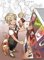Hero:Stella and Cinnamon by Sho-chan9