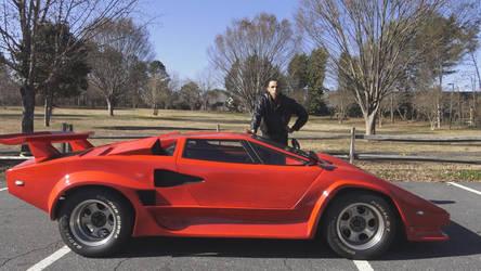 Lamborghini Countach replica (Countach VPM OMG) by IMAREA