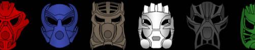 Normalfied Inika Masks by bonesiii