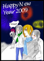 Happy New Year 2009 by Shion-Tan