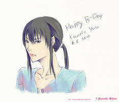 Happy belated B-Day, Kanda Yuu by Shion-Tan
