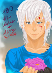 HBD Allen Walker and Merry X-Mas by Shion-Tan