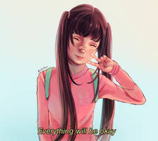 Everything will be okay by Panditablu