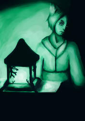 The Kitsune lamp: THANKS, YOU GUYS! by StarlightArtt