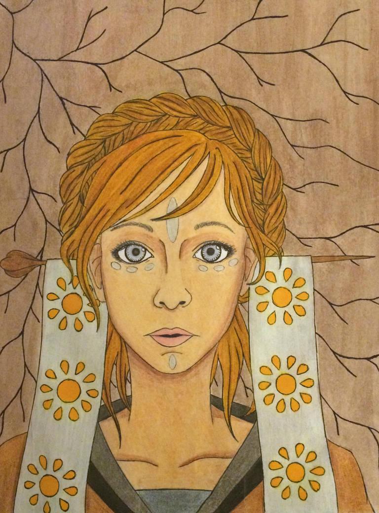 Self Portrait2 By Chance722-d8e6g4q by REMemberDru