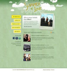 Music festival template by bevel-and-emboss